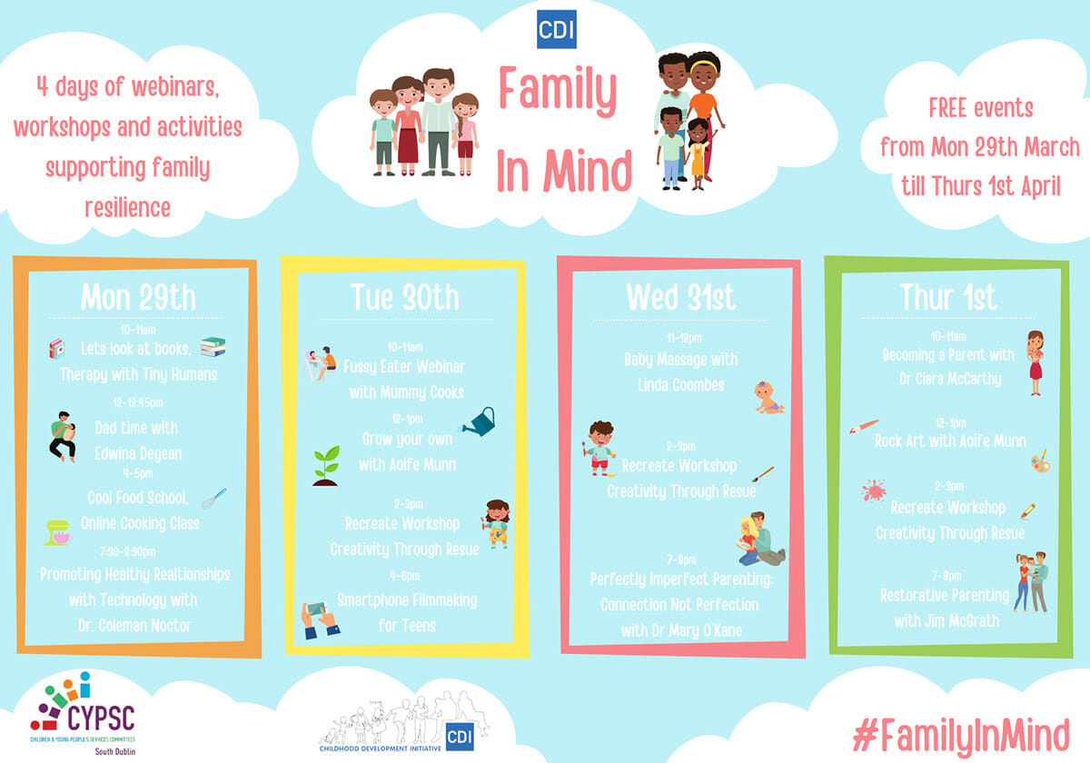 Family in Mind Event Poster