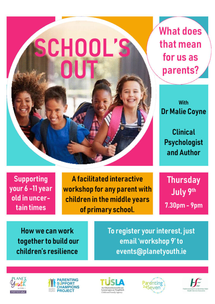 Schools Out Webinar 9th July 2020