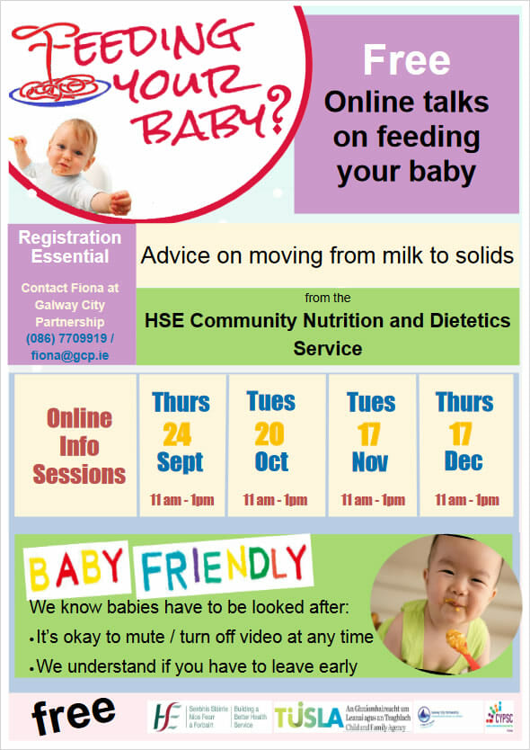 Feeding Your Baby - Free Online Talks
