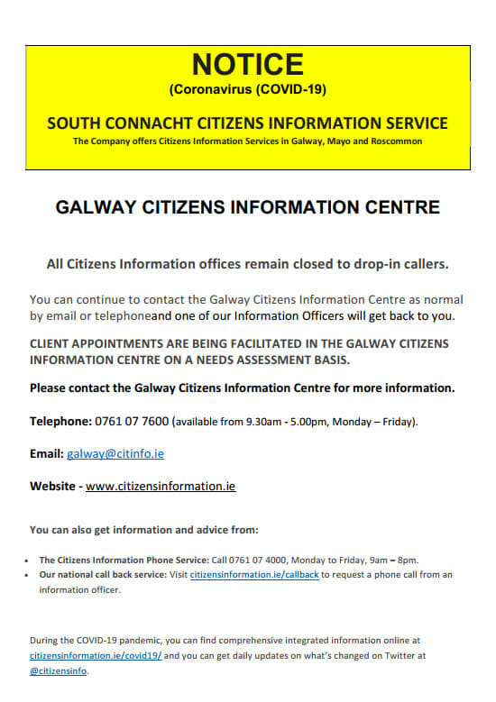 South Galway Citizens Information Centre