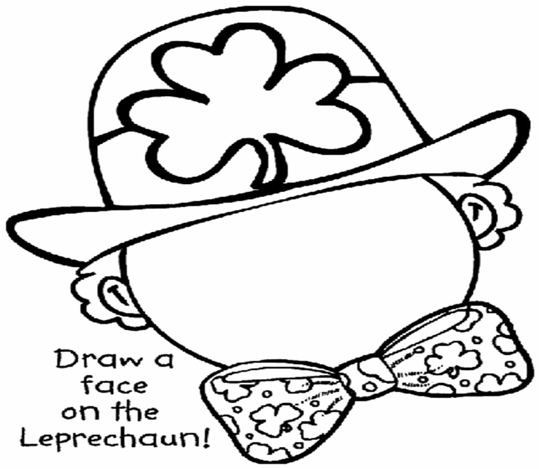 Draw a Face on the Leprechaun