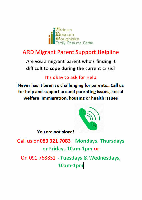 Ard Migrant Parent Support Helpline