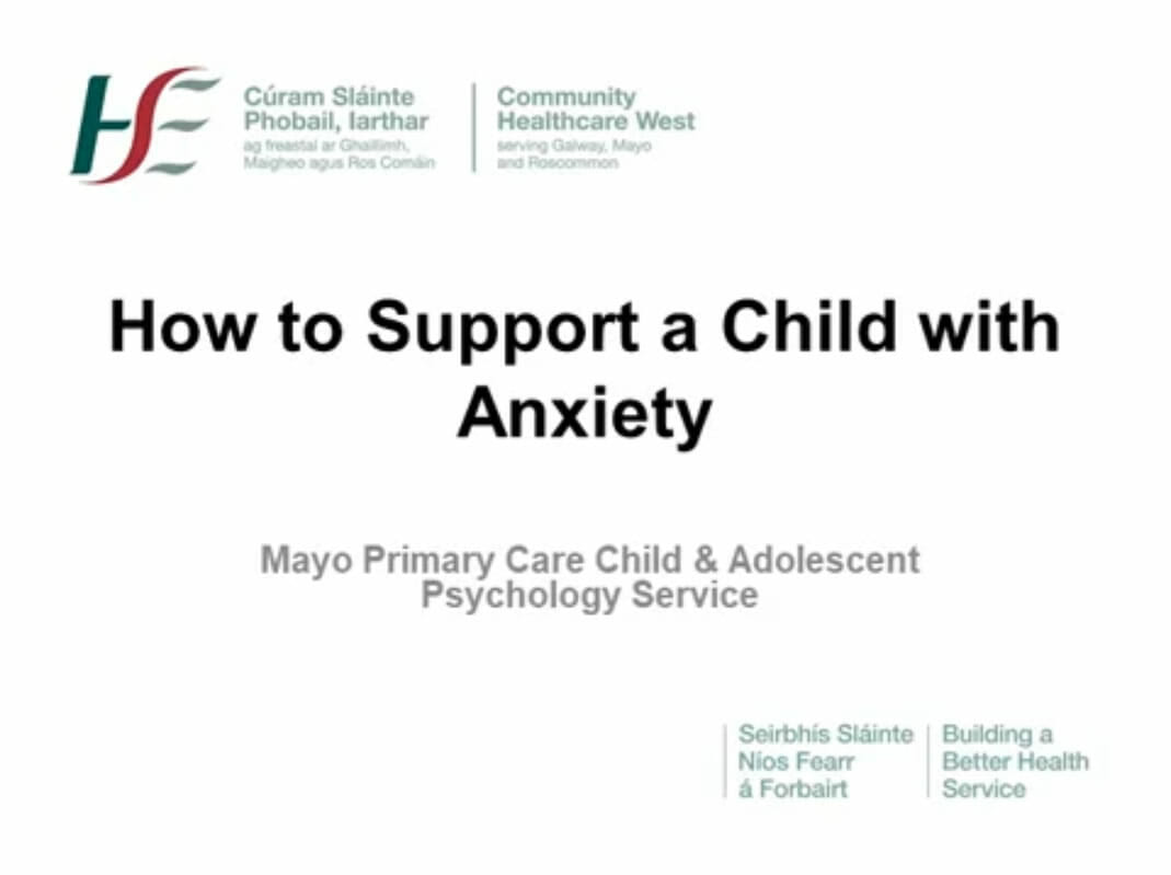 How to Support a Child with Anxiety