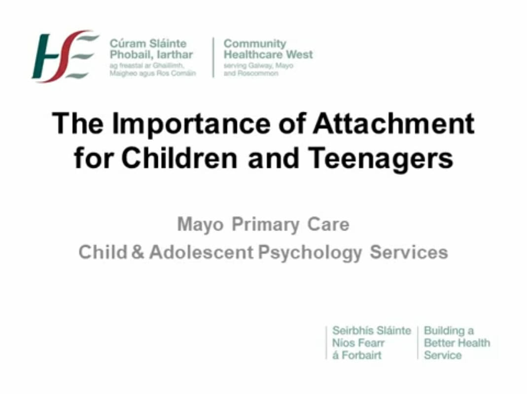 The Importance of Attachment for Children