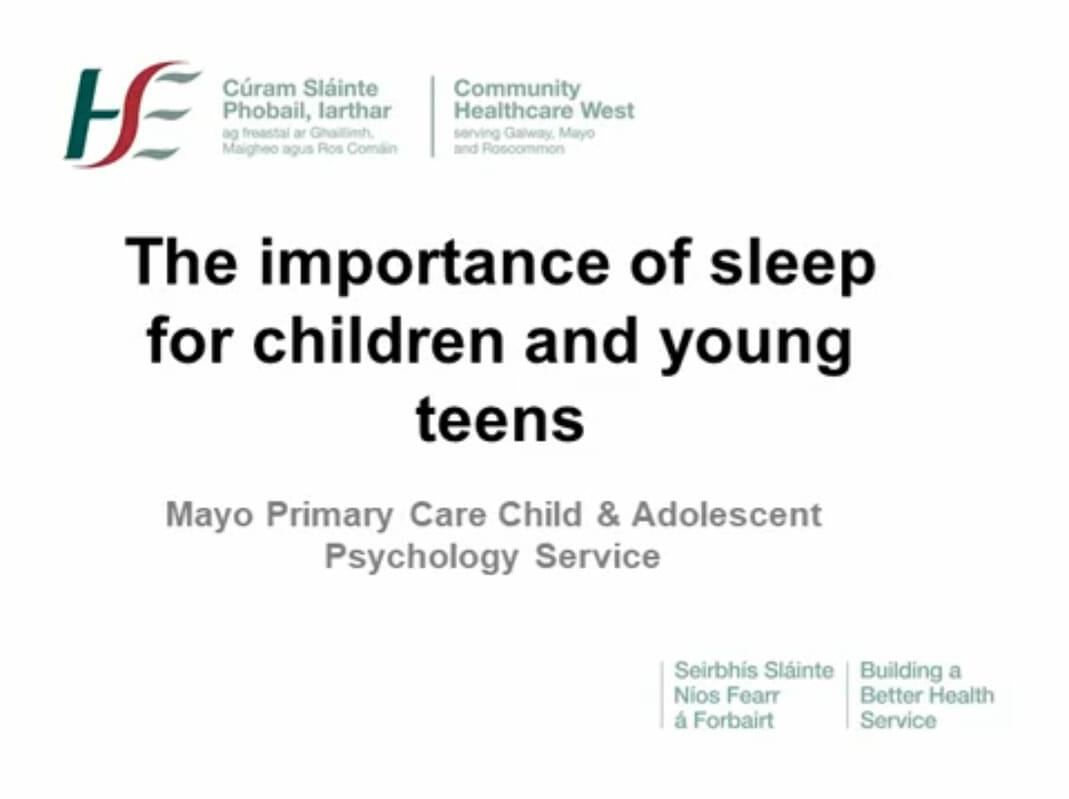 The Importance of Sleep for Children and Teens